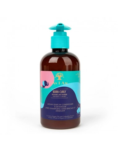 As I Am Born Curly Argan Leave-In...