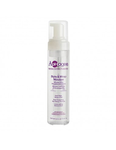 ApHogee Style & Wrap Mousse 251ml /...