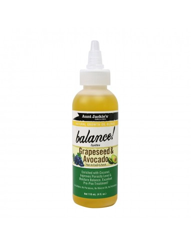 Aunt Jackie´s Grapeseed & Avocado Oil...