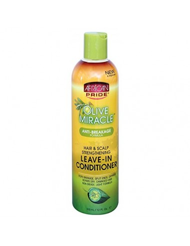 African Pride Olive Miracle Leave-In...