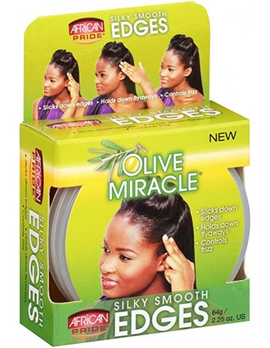 African Pride Olive Smooth Edges...